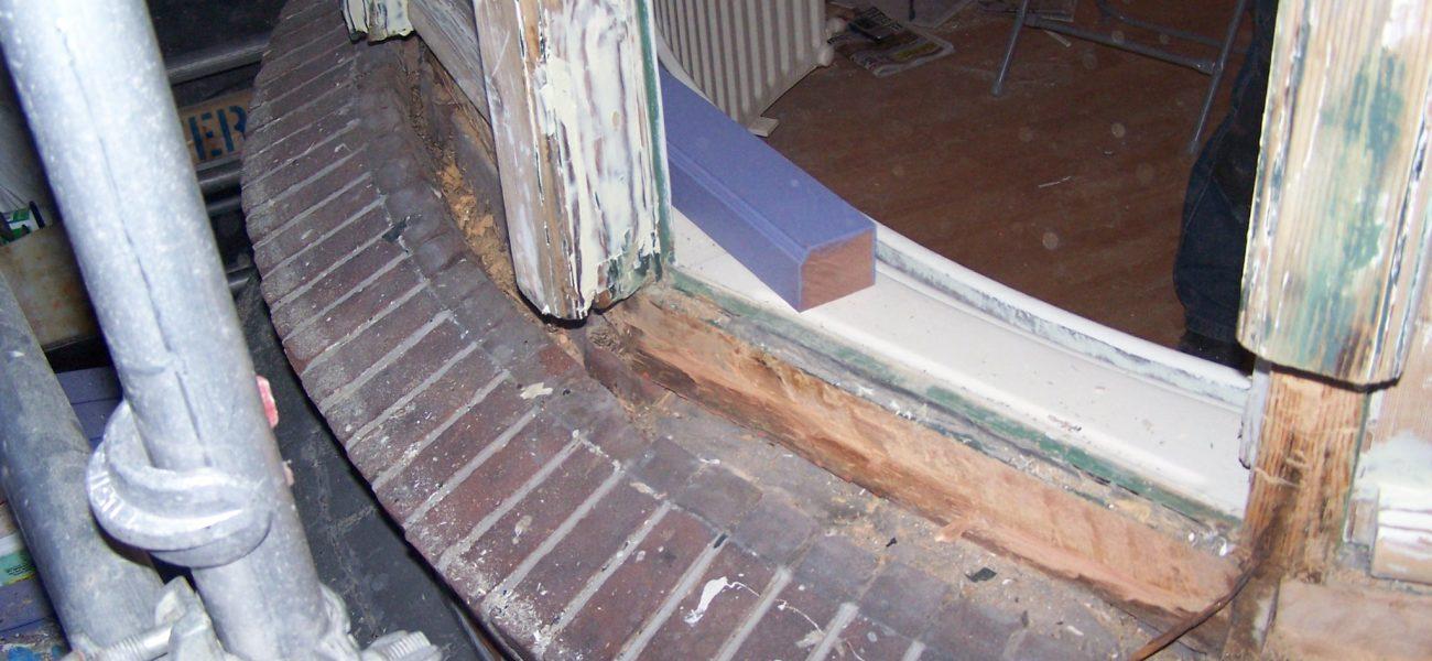 Houtrot renovatie middels Repair-Care
